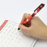ROMANE Donat Donat print 0.38mm black ballpoint pen