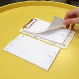 Universe - N.IVY Buri clipboard memo holder with 30 notes sheets