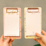 N.IVY Buri clipboard memo holder with 30 notes sheets