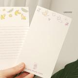 Universe - N.IVY Buri memo notes notepad 50 sheets