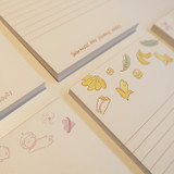 N.IVY Buri memo notes notepad 50 sheets