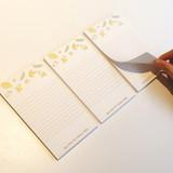 Banana - N.IVY Buri memo notes notepad 50 sheets