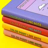 Ardium Color point lined notebook 160 pages