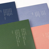 Back - Bookfriends Korean literature lined notebook 64 pages