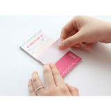 Usage example - Iconic Dual sticky notepad 40 sheets