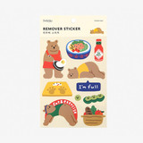 Dailylike Diet bear removable paper deco sticker