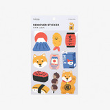 Package - Dailylike Tokyo shiba removable paper deco sticker