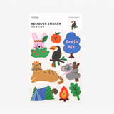 Package - Dailylike Animal kingdom removable paper deco sticker