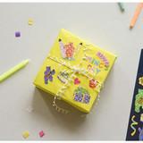 Usage example - Dailylike Jelly bear party hologram removable sticker
