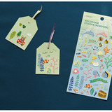 Usage example - Dailylike Under the sea hologram removable sticker