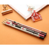 Oh-ssumthing O-ssum natural 2B pencil set of 4