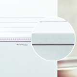 With perforated line - Oh-ssumthing O-ssum memo notepad 918 with the perforated line