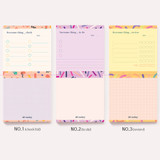 Option - Oh-ssumthing O-ssum memo notepad 918 with the perforated line