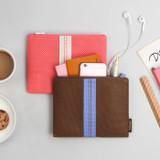 Usage example - Monopoly Air mesh large plain zipper pouch bag