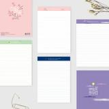Bookfriends Korean literature lined notepad 50 sheets