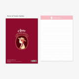 Anne of Green gables - Bookfriends World literature lined notepad 50 sheets