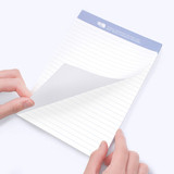 Easy tear off - Bookfriends World literature lined notepad 50 sheets