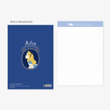 Alice in wonderland - Bookfriends World literature lined notepad 50 sheets