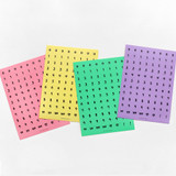 2NUL Drawing number color sticker set
