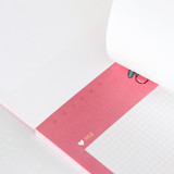 Easy tear off - ICONIC Buddy B5 size grid notes memo notepad