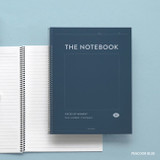 Peacook blue - ICONIC Pieces of moment basic spiral B5 lined notebook