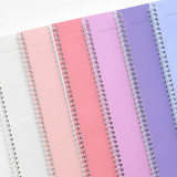 Spiral bound - ICONIC Pieces of moment basic spiral B5 lined notebook