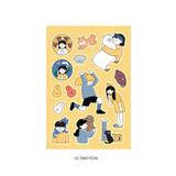 03 Emotion - ICONIC Haru removable craft decoration sticker