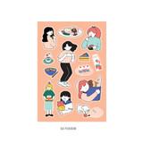 02 Foodie - ICONIC Haru removable craft decoration sticker