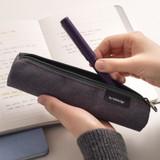 Usage example - Byfulldesign Tiny but Big tube zipper pencil case