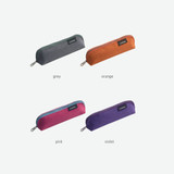 Color - Byfulldesign Tiny but Big triangle zipper pencil case
