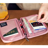 Pink - Byfulldesign Travelus handy pocket travel organizer bag ver5