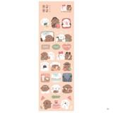 01 - Dash And Dot Mongle Mongle removable sticker seal