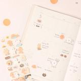 03 - Dash And Dot Mongle Mongle removable sticker seal