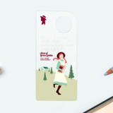 School - Bookfriends Anne of Green Gables clear bookmark