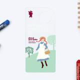 Errand - Bookfriends Anne of Green Gables clear bookmark