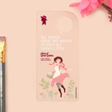 Flower - Bookfriends Anne of Green Gables clear bookmark