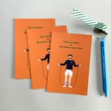 06 - Design Comma-B Analog and modern illustration postcard II