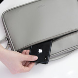 Front zip pocket - GMZ The Memo iPad tablet PC 11 inches sleeve pouch case