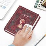 Usage example - Bookfriends World literature book cover mouse pad