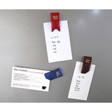 Usage example - Multi purpose synthetic leather folding magnet organizer
