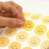 Usage example - PAPERIAN Color palette Smile deco sticker set