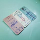 B - UNIVERSAL CONDITION Vintage ticket magnet bookmark set