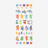 Dailylike Jelly bear removable paper diary deco sticker seal