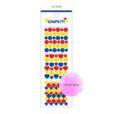 03 Heart -Wanna This Confetti aurora pearl mini deco sticker 01
