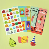 ROMANE MonagustA removable deco sticker pack