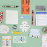 Usage example - ROMANE Donat Donat sticky memo notepad set