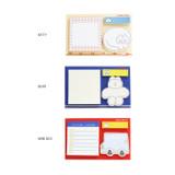 Option - ROMANE Donat Donat sticky memo notepad set
