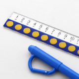 Usage example - 2NUL Circle decorative paper masking tape