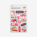 Package of Cherry removable paper deco sticker