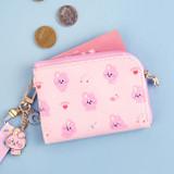 Usage example - BT21 Baby pattern zipper card pocket wallet